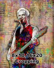 Sting Poster, Sting of The Police Gift, Sting Fine Art