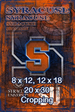 Syracuse Orange Poster, Syracuse Orange Print, Orange gift, Syracuse Man Cave Picture
