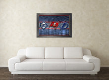 Tampa Bay Sports Teams Poster, Tampa Bay Buccaneers, Tampa Bay Lightning, Tampa Bay Rays Gift