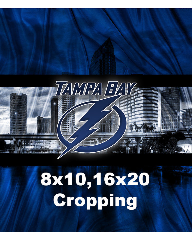 Tampa Bay Lightning Poster, Tampa Bay Lightning Print, Tampa Bay Light U2013  McQDesign