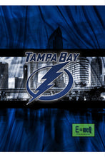 Tampa Bay Lightning Poster, Tampa Bay Lightning Print, Tampa Bay Lightning Man Cave Art, Lightning Hockey