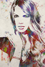 Taylor Swift Poster, Taylor Swift Gift, Taylor Swift Colorful Layered Tribute Fine Art