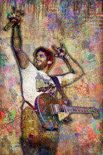 Thomas Rhett Poster, Thomas Rhett Portrait Gift, Thomas Rhett Colorful Layered Tribute Fine Art