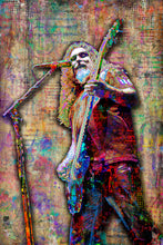Slayer Poster, Tom Araya of Slayer Portrait Gift, Slayer Tribute Fine Art