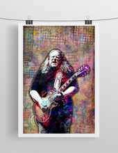 Warren Haynes Poster, Warren Haynes of the Gov't Mule Gift, Warren Haynes Fine Art