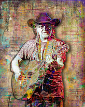Willie Nelson Poster, Willie Nelson Tribute Fine Art