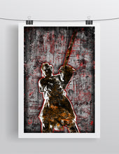 "Leatherface ""Texas Chainsaw Massacre"" Poster, Leatherface Gift,Horror Fine Art"