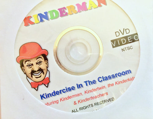 Kindercise in Action DVD