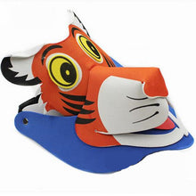 Mask Children Birthday Party Supplies EVA Headdress Cartoon Kid Party Dress Up Zodiac animal Costume Zoo Jungle Party Decoration
