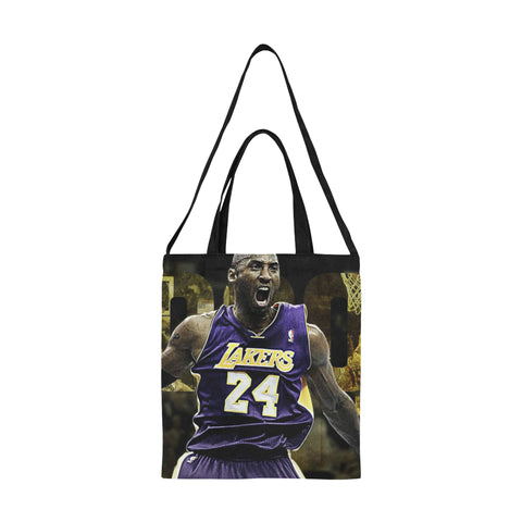 Kobe Bryant All Over Print Canvas Tote Bag/Medium (Model 1698)