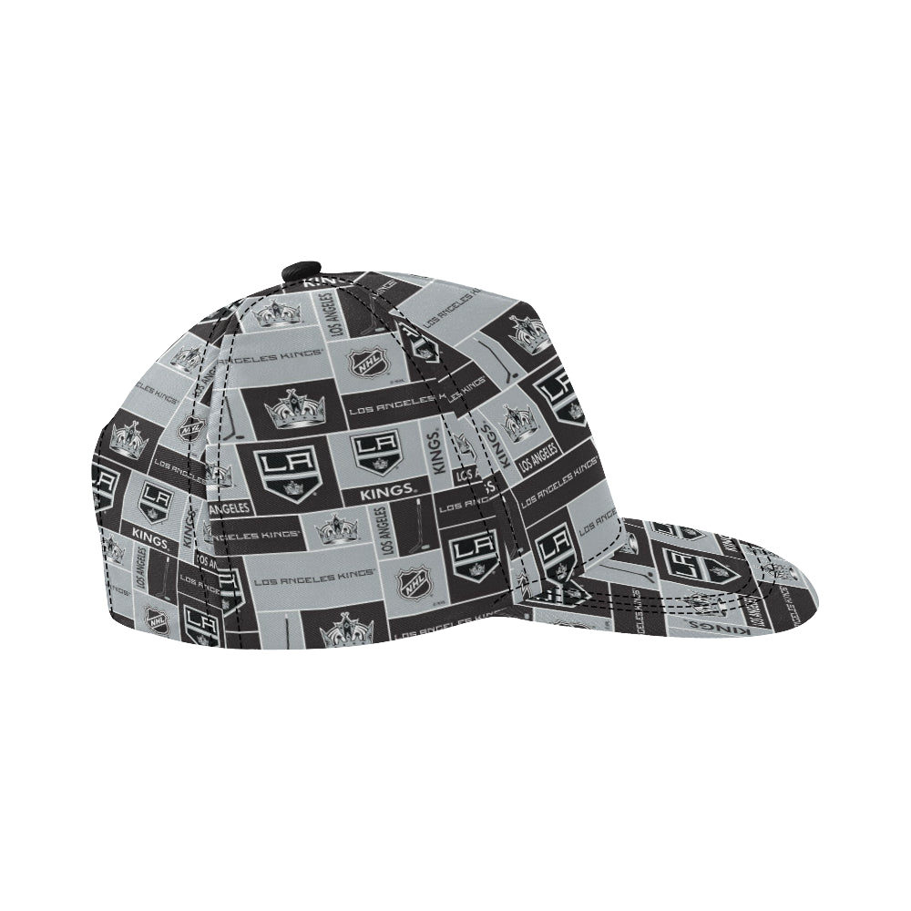 Los Angeles Kings All Over Print Snapback Hat