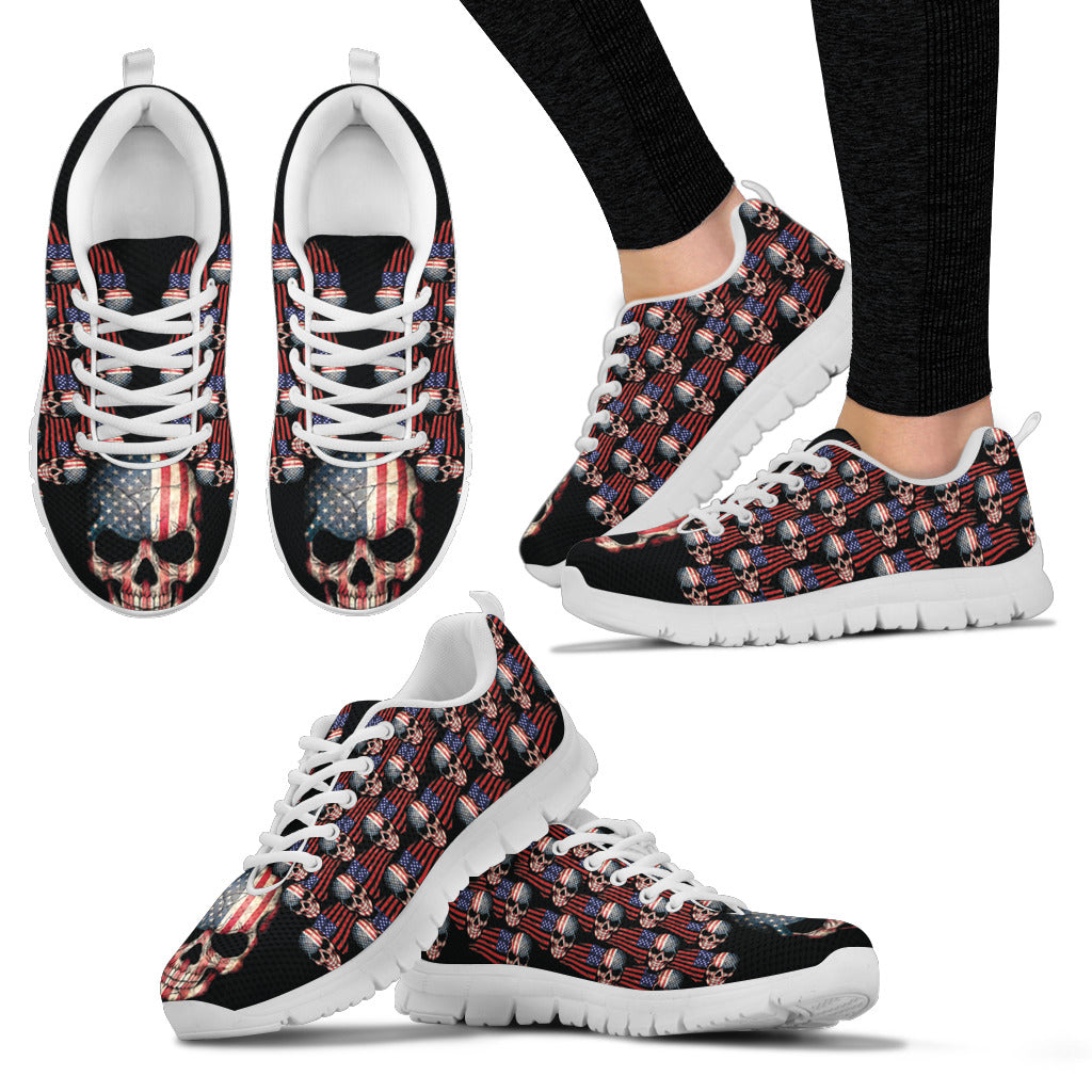 American Skull Shoes Women's Sneakers