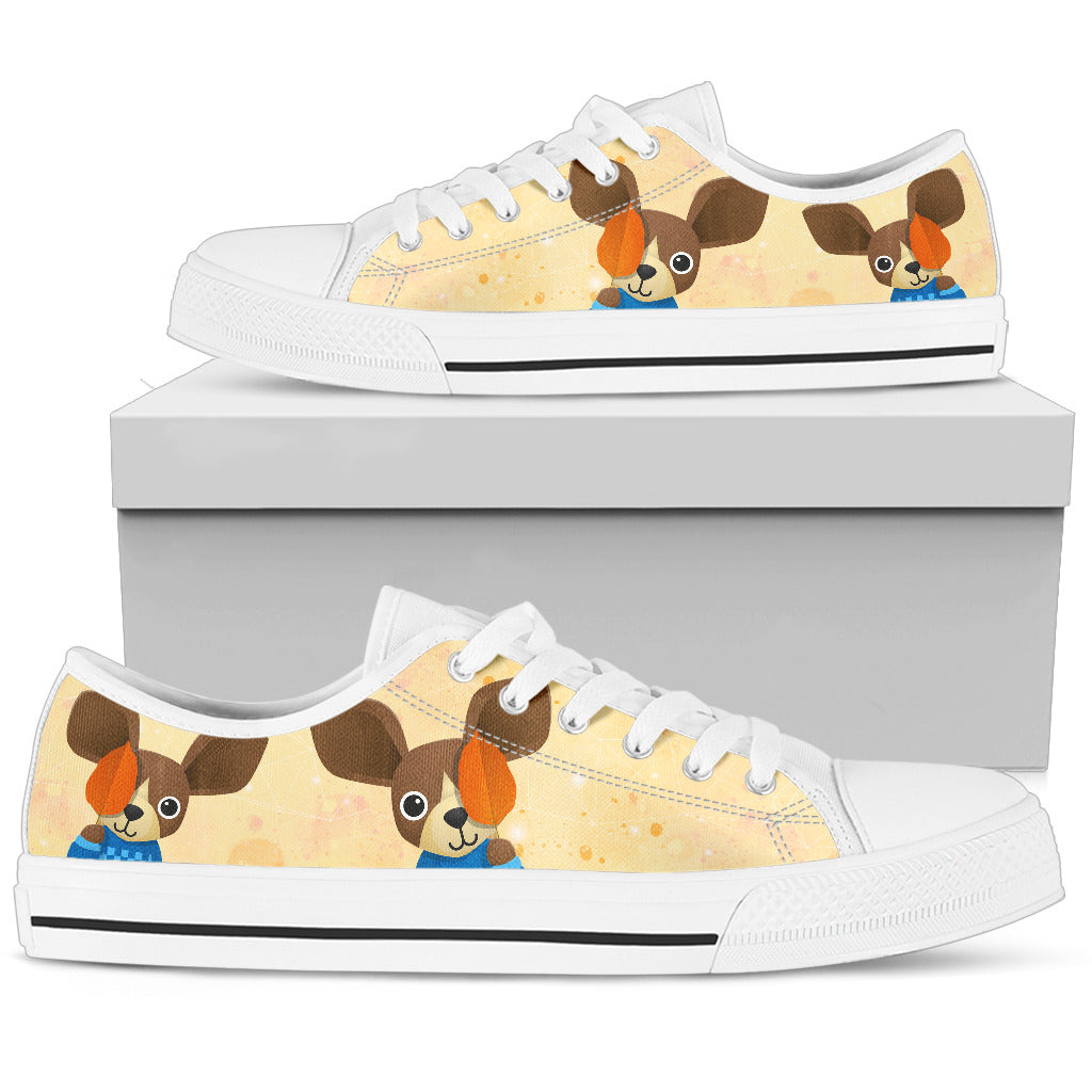 Chihuahua Shoes Women's Low Top Shoe