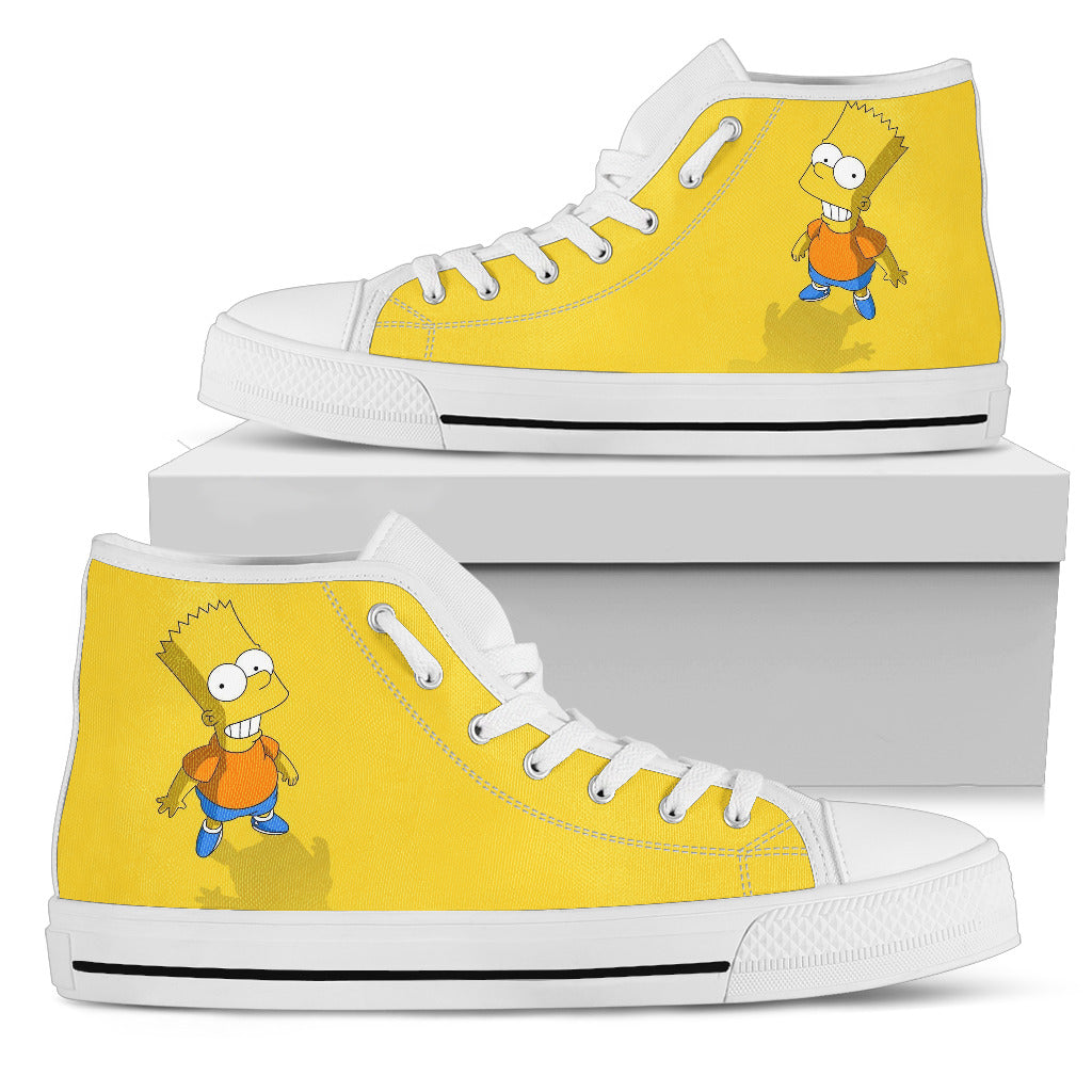 The Simpson Sneakers High Top Shoes for Women
