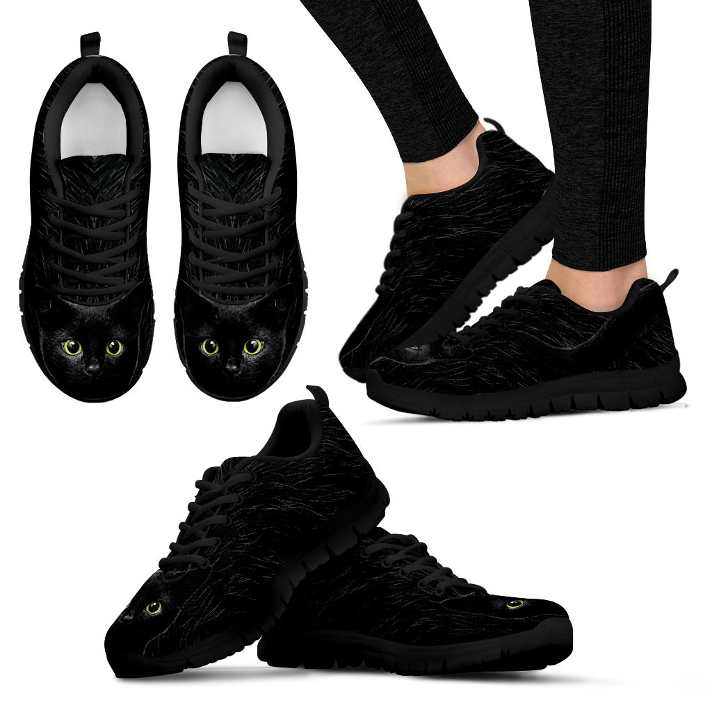 Black Cat Shoes Women's Sneakers