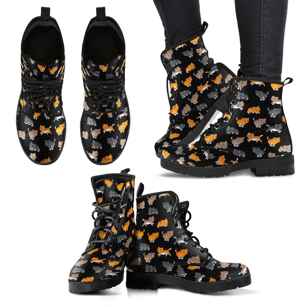 Cat Shoes Casual Boots