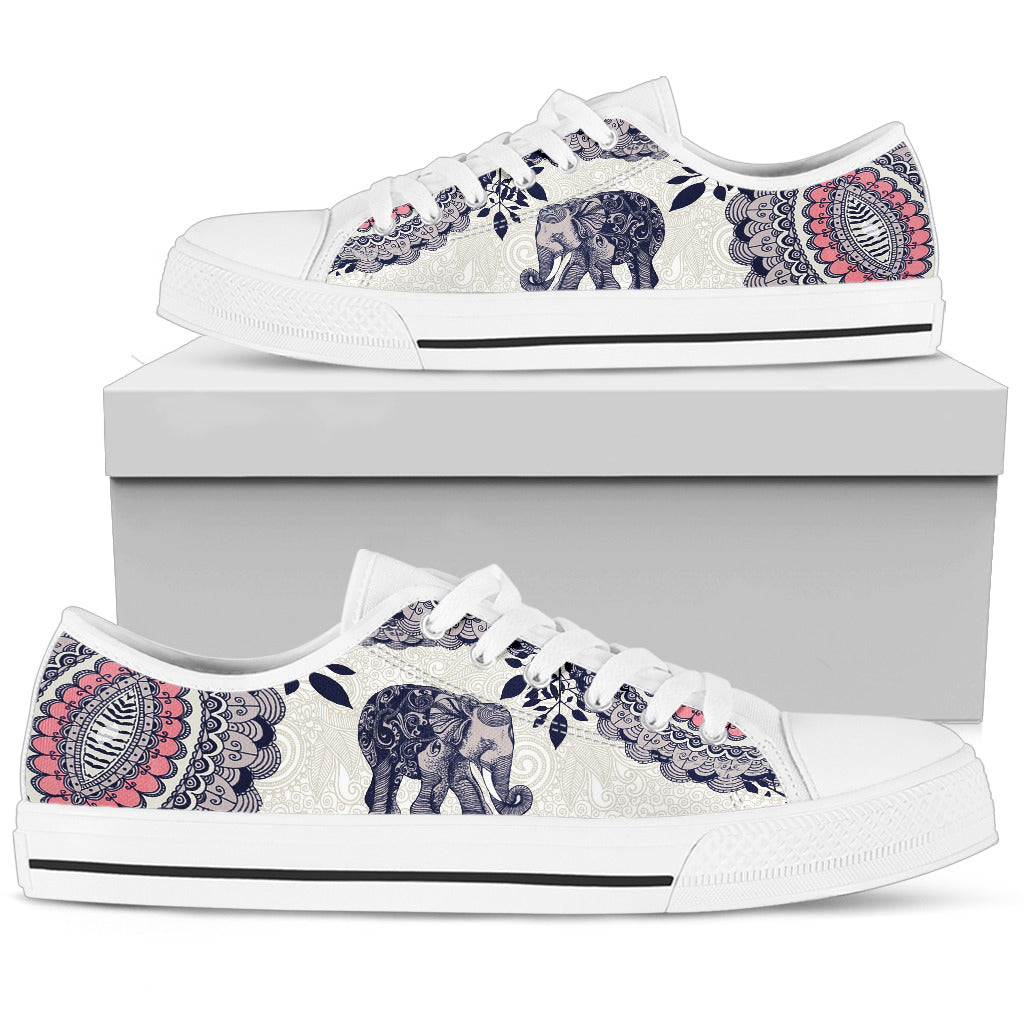 Elephant Shoes Women's Low Top Shoe