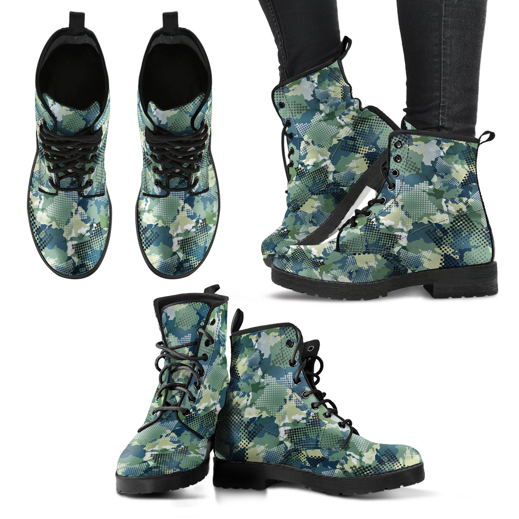 Camouflage Boots Casual Boots