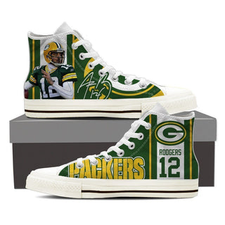 Aaron Rodgers Mens High Top Sneakers High Top