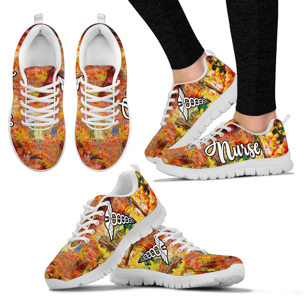 Nurse Shoes Art Women's Sneakers