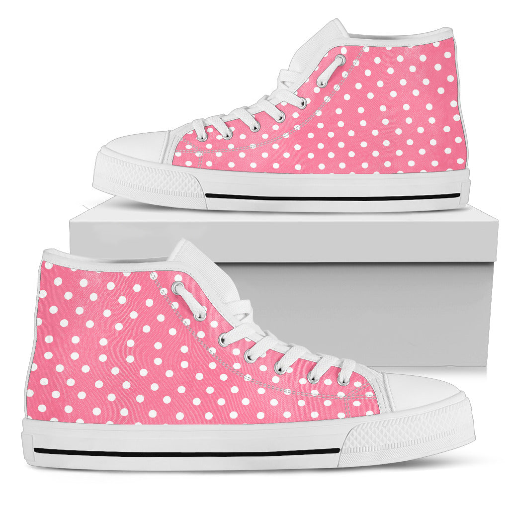 Pink Shoes Pink High Top Sneakers for Women