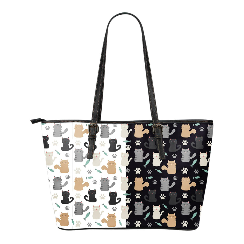 Cat tote Bag Cat Print Tote Bag