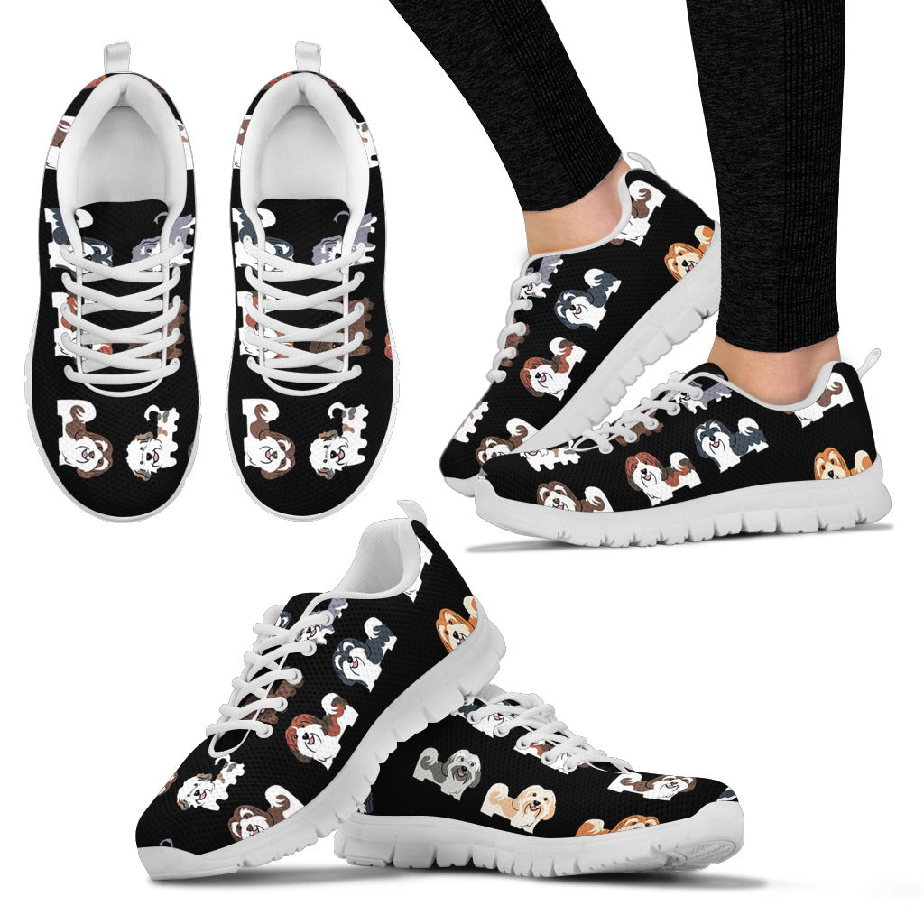 Shih Tzu Shoes Women's Sneakers