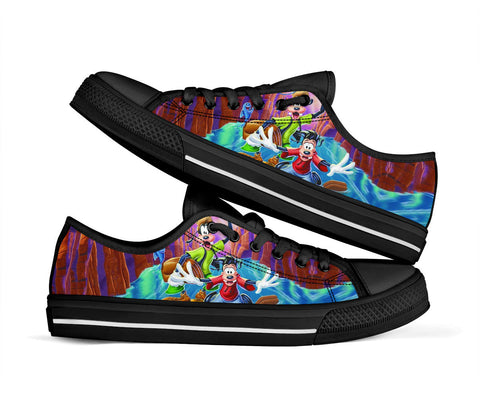 A Goofy Movie Shoes Low Top Sneakers