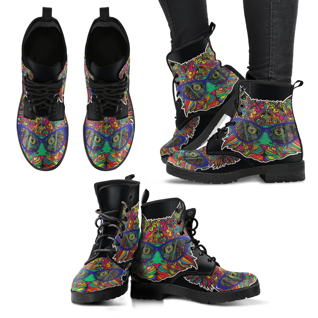 Cat Boots Women's Leather Boots