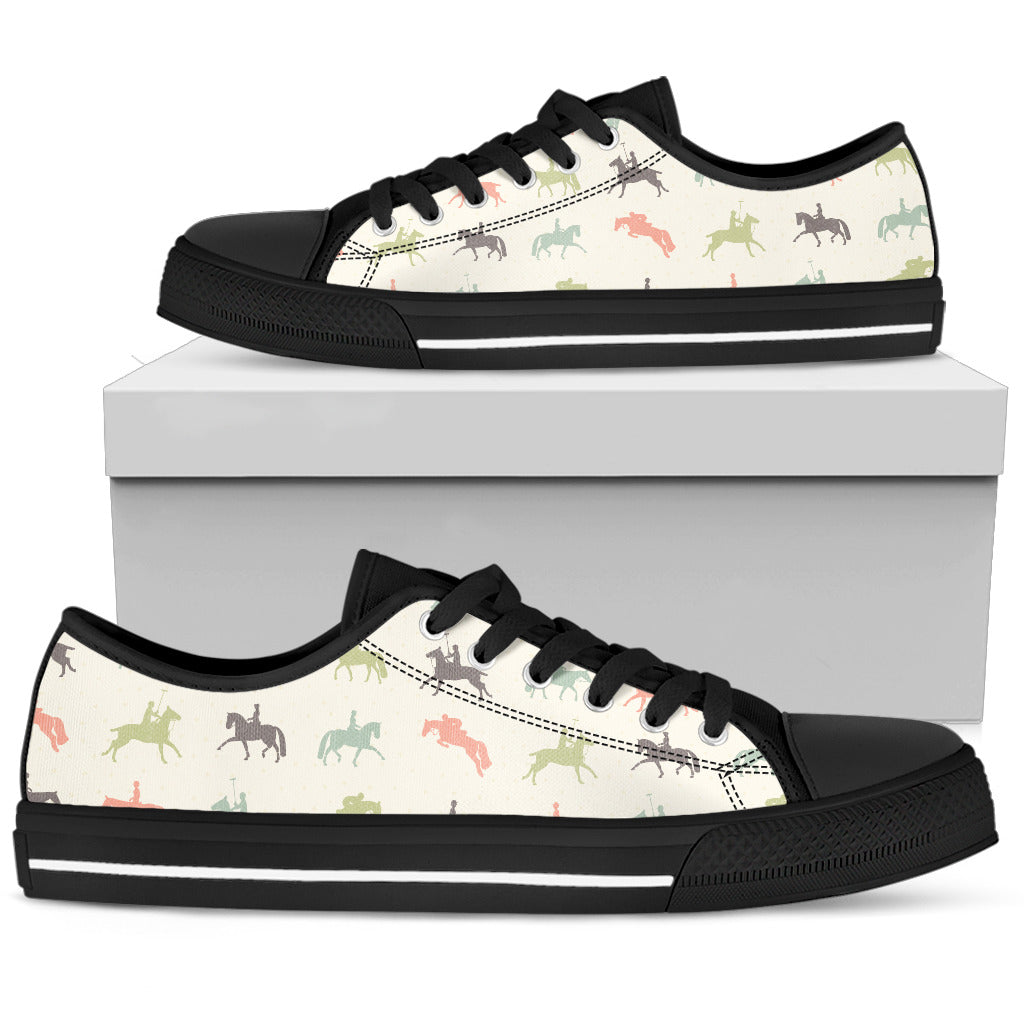 Horse  Shoes Women's Low Top Shoe