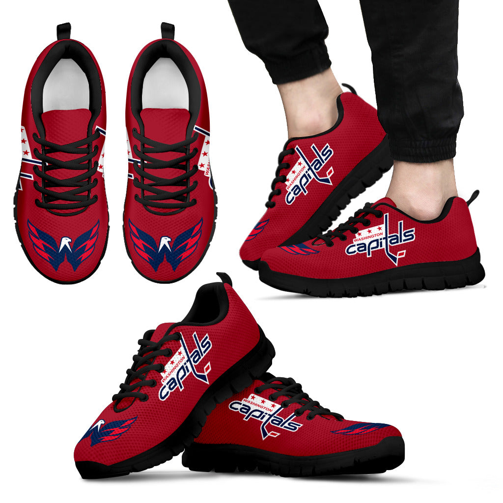 Washington Capitals Shoes Men's Sneakers Capitals Gear