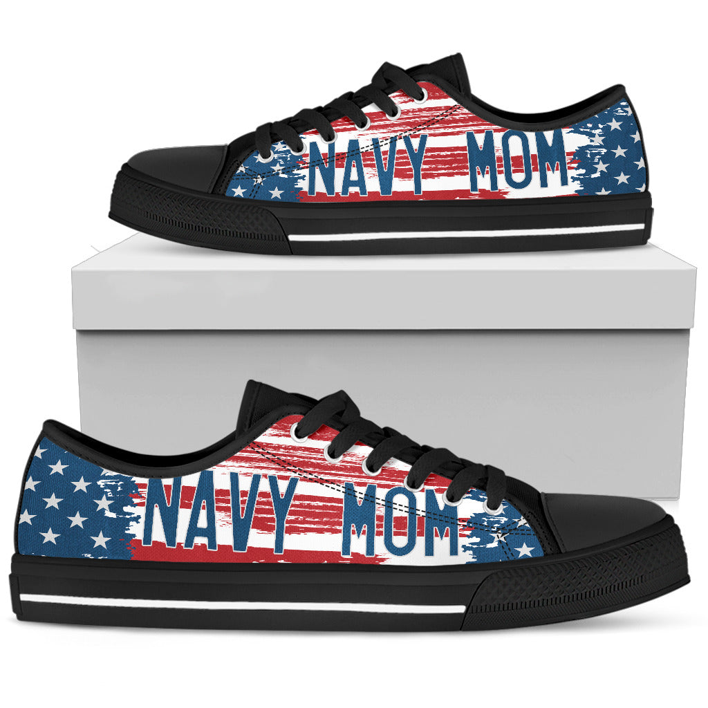 Proud Navy Mom Shoes