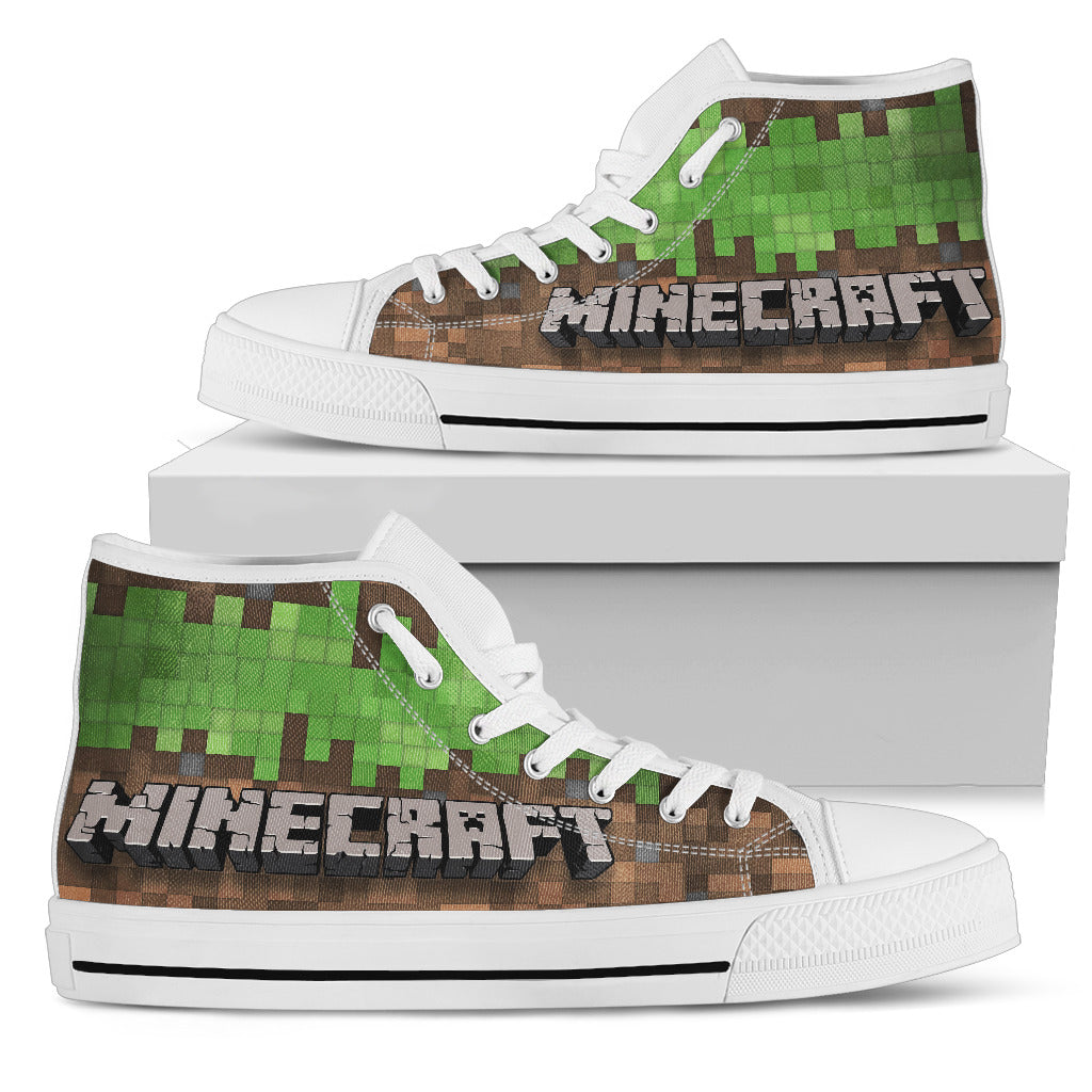Minecraft Shoes Womens High Top Sneakers