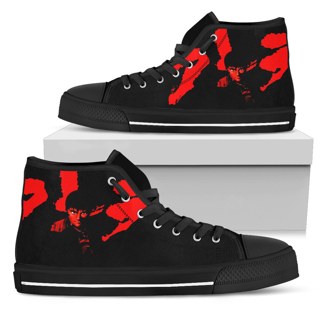 Akira Shoes Womens High Top Sneakers Anime Shoes