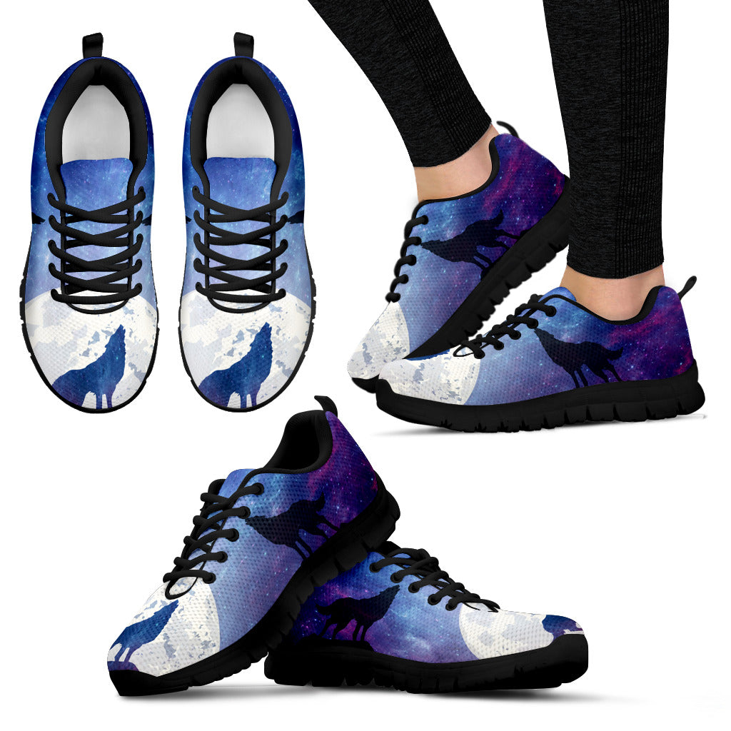 Wolf Moon Shoes Women's Sneakers for Womens
