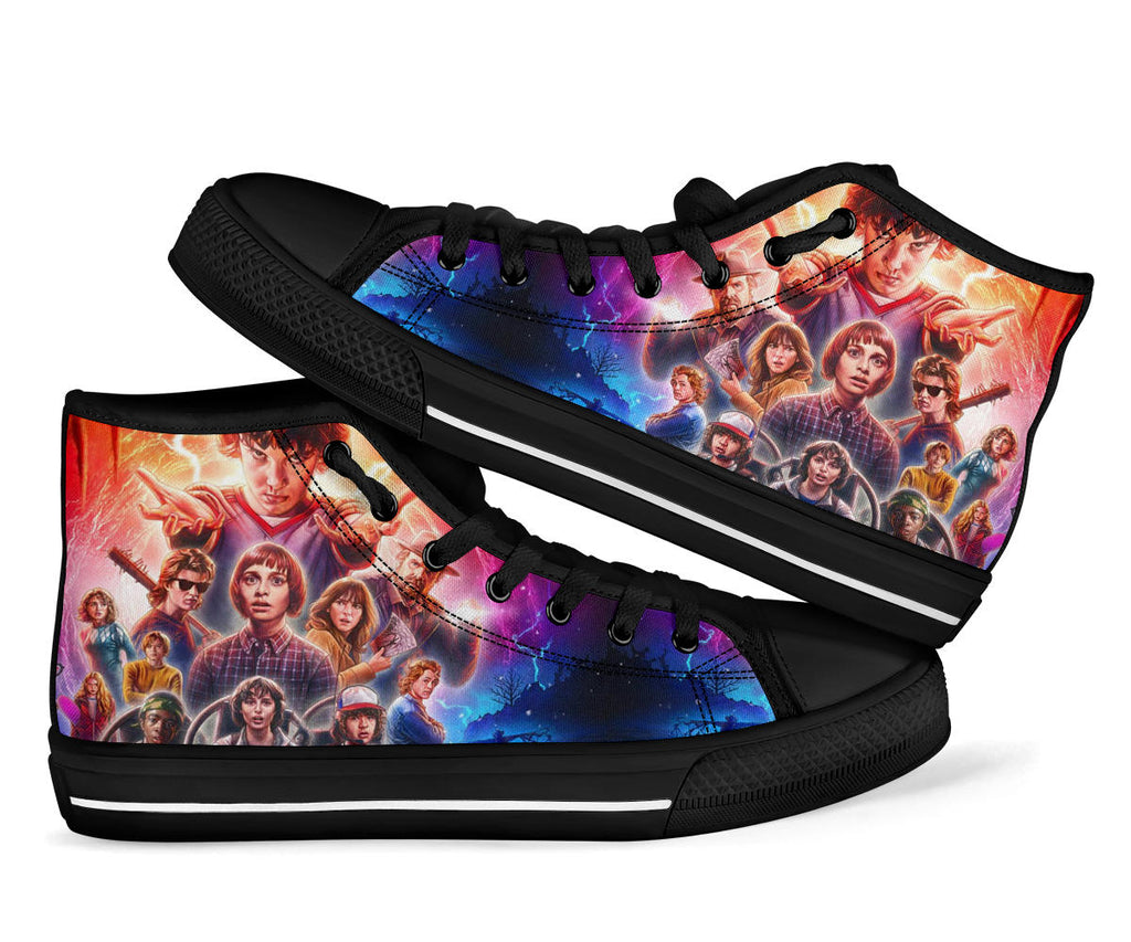 Stranger Things Sneakers High Top Shoes