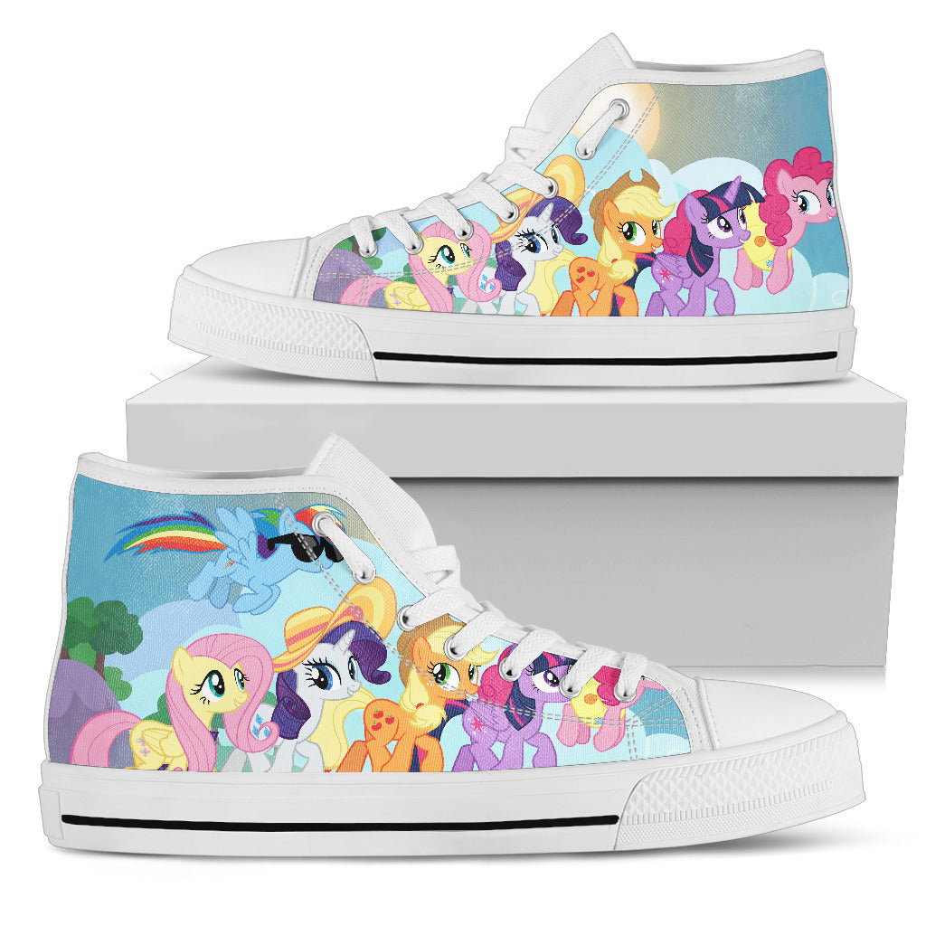 My Little Pony Shoes Womens High Top