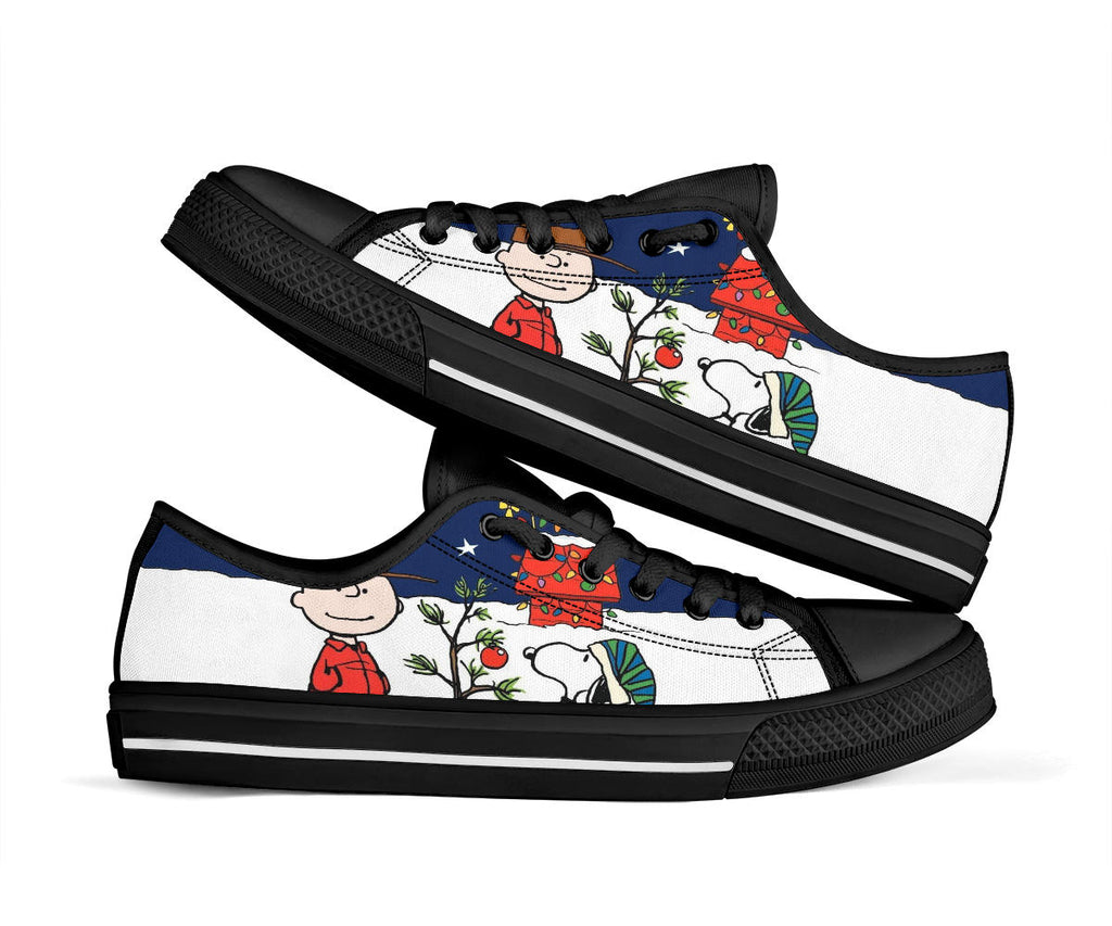 A Charlie Brown Christmas Shoes Low Top Sneakers