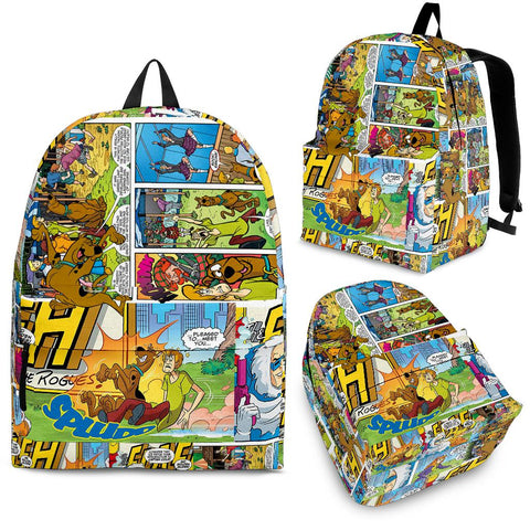 Scooby Doo Comic Books Backpack