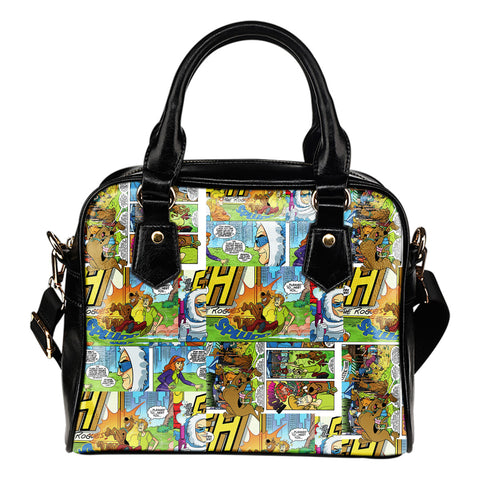 Scooby Doo Comic Books Shoulder Handbag
