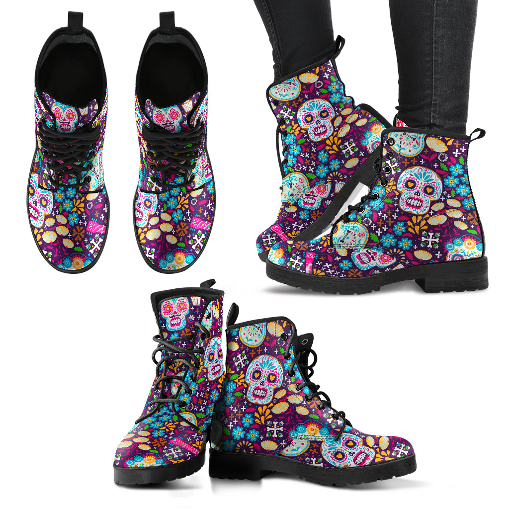 Day of The Dead Casual Boots