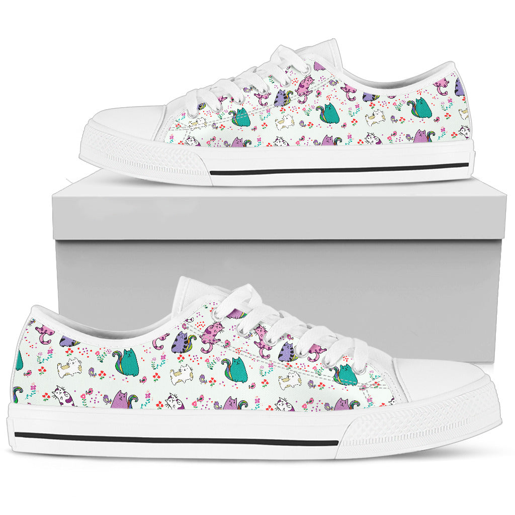 White Cat Shoes Women's Low Top Shoe