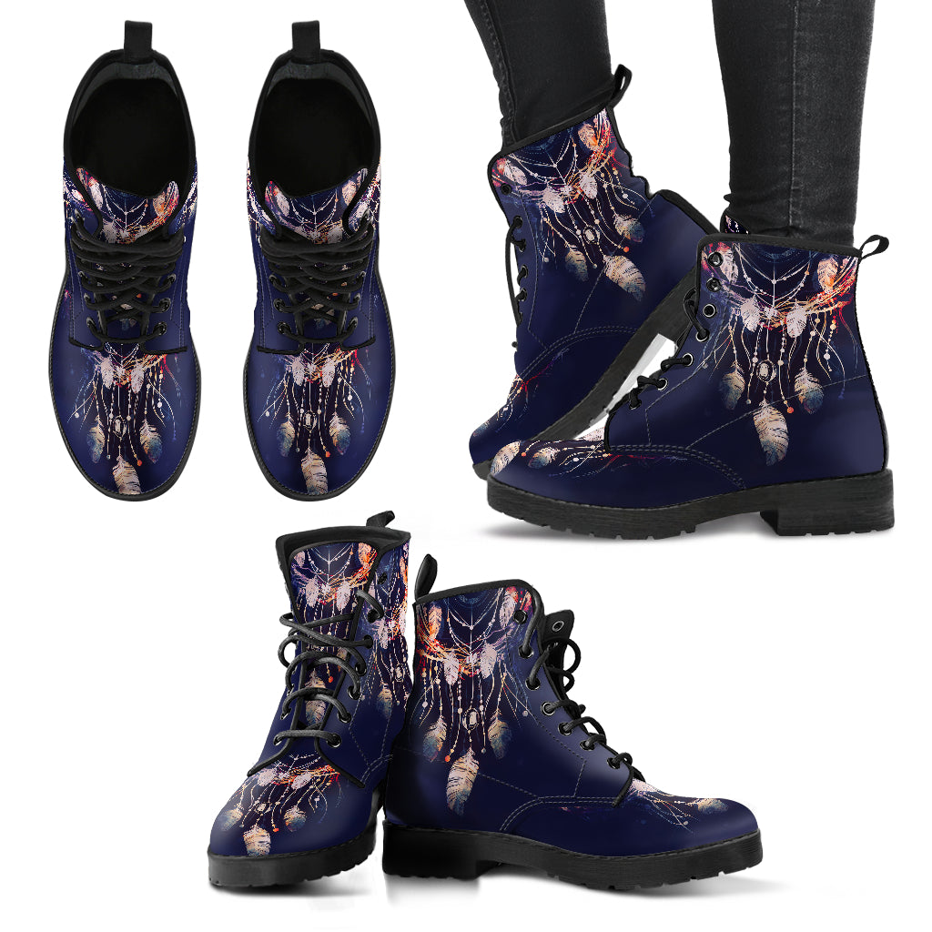 Dream catcher Boots Women's Leather Boots