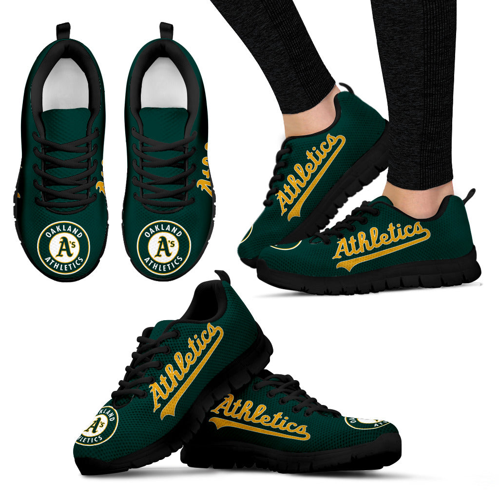 e59e5bb38ea94 Oakland a's Shoes Women's Sneakers Oakland Athletics Shoes