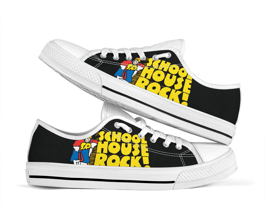 Schoolhouse Rock Shoes Low Top Sneakers
