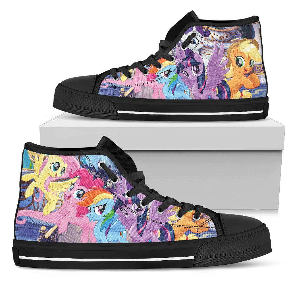 My Little Pony Shoes Womens High Top Sneakers