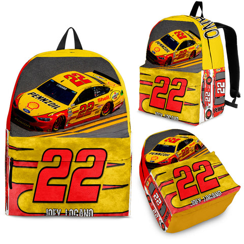 Joey Logano Backpack Outdoor Backpack Bags Day Backpacks