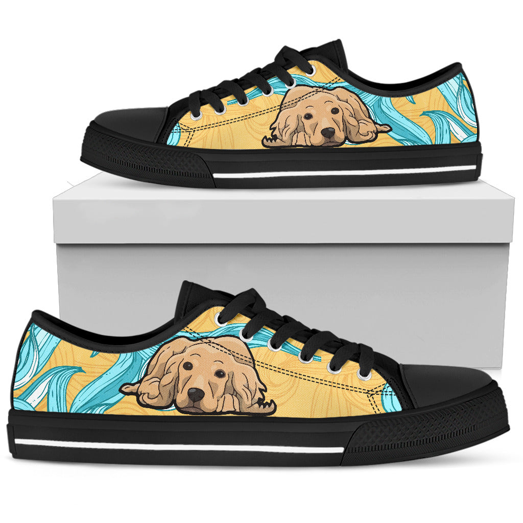 Cocker Spaniel Shoes Women's Low Top Shoe