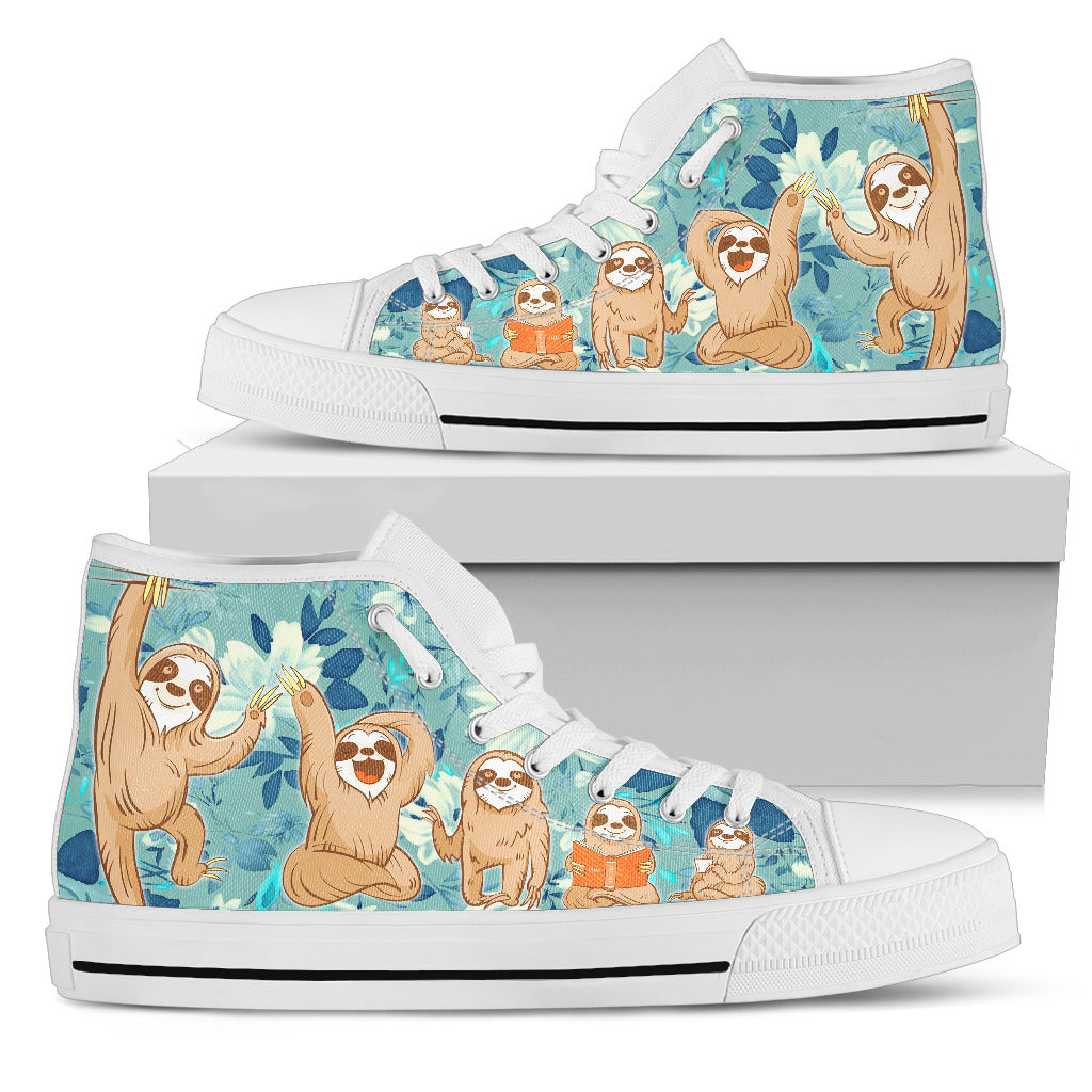 Sloth Shoes Women's High Top