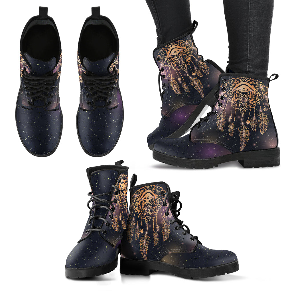 Eye Dreamcatcher Boots Women's Leather Boots